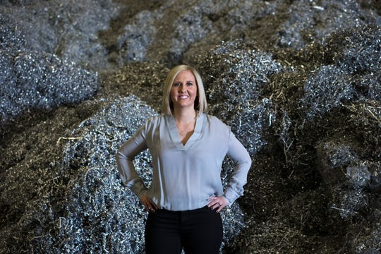 2nd generation of female leadership powers Glendale scrap-metal recycler Consolidated Resources