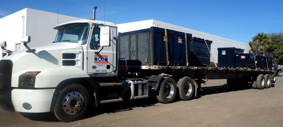 cri flatbed rolloff waste management
