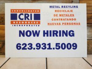 CRI is hiring Laborers Phoenix area